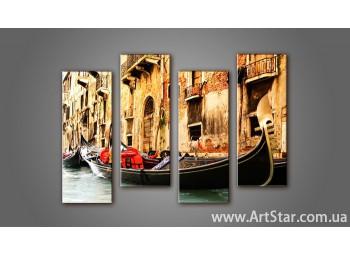 Модульная картина Венеция (4) 7