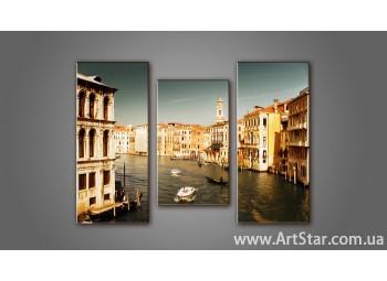 Модульная картина Венеция 9