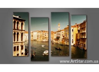 Модульная картина Венеция (4) 10