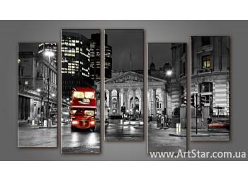 Модульная картина Панорама Лондона (5) 13