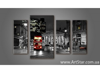 Модульная картина Панорама Лондона (4) 11