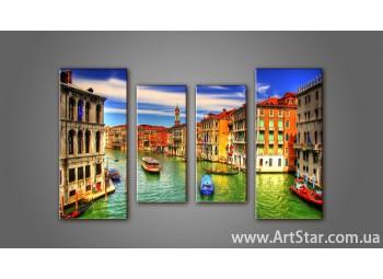 Модульная картина Венеция (4) 11