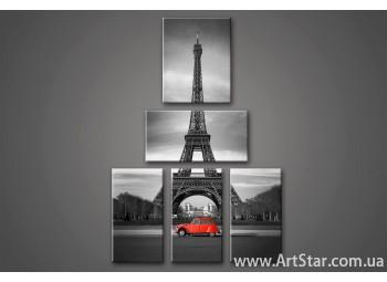 Модульная картина Париж (5)
