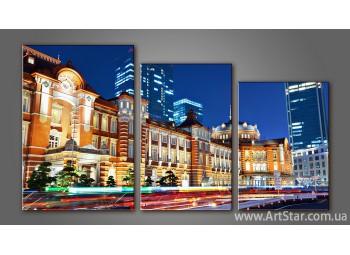 Модульная картина Панорама Города 8