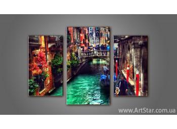 Модульная картина Панорама Венеция 3