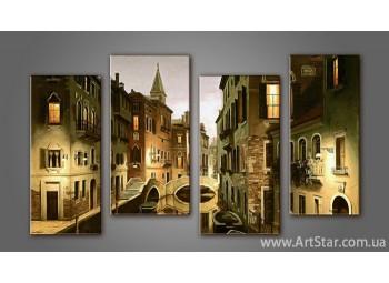 Модульная картина Панорама Город (4) 4